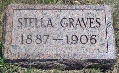 GRAVES, STELLA - Dundy County, Nebraska   STELLA GRAVES - Nebraska Gravestone Photos