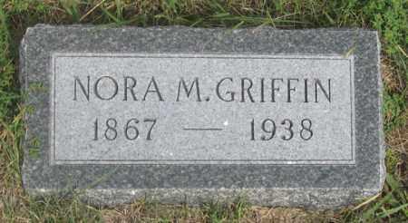 MILLER GRIFFIN, NORA M. - Dundy County, Nebraska | NORA M. MILLER GRIFFIN - Nebraska Gravestone Photos