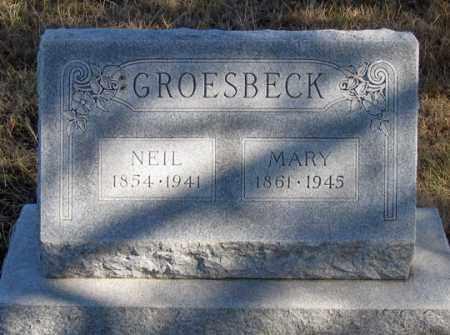 GROESBECK, NEIL - Dundy County, Nebraska | NEIL GROESBECK - Nebraska Gravestone Photos