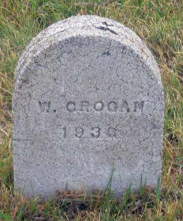 GROGAN, W. - Dundy County, Nebraska | W. GROGAN - Nebraska Gravestone Photos