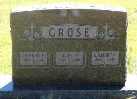 GROSE, WILLIAM R. - Dundy County, Nebraska | WILLIAM R. GROSE - Nebraska Gravestone Photos
