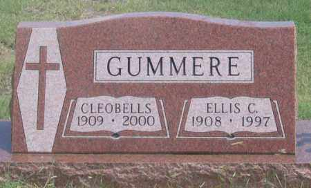 ROYAL GUMMERE, CLEOBELLS - Dundy County, Nebraska | CLEOBELLS ROYAL GUMMERE - Nebraska Gravestone Photos