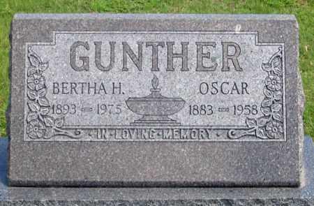 GUNTHER, OSCAR - Dundy County, Nebraska | OSCAR GUNTHER - Nebraska Gravestone Photos