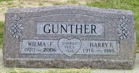 GUNTHER, WILMA F. - Dundy County, Nebraska | WILMA F. GUNTHER - Nebraska Gravestone Photos