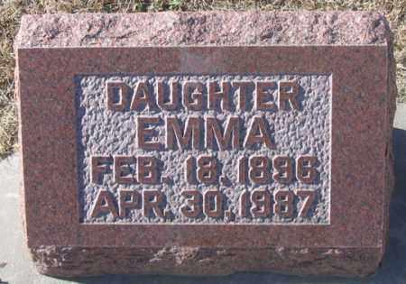 HAARBERG, EMMA - Dundy County, Nebraska | EMMA HAARBERG - Nebraska Gravestone Photos