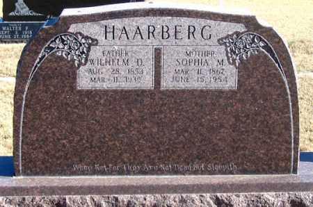HAARBERG, SOPHIA M. - Dundy County, Nebraska | SOPHIA M. HAARBERG - Nebraska Gravestone Photos