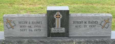 HAINES, HUBERT M. - Dundy County, Nebraska | HUBERT M. HAINES - Nebraska Gravestone Photos