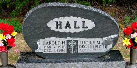 HINRICHSON HALL, LUCILE M. - Dundy County, Nebraska | LUCILE M. HINRICHSON HALL - Nebraska Gravestone Photos