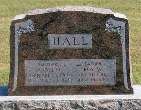 HALL, MABEL O. - Dundy County, Nebraska   MABEL O. HALL - Nebraska Gravestone Photos