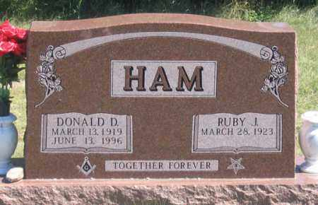 BLOSMO HAM, RUBY J. - Dundy County, Nebraska | RUBY J. BLOSMO HAM - Nebraska Gravestone Photos