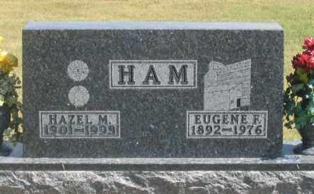 FRANK HAM, HAZEL M. - Dundy County, Nebraska | HAZEL M. FRANK HAM - Nebraska Gravestone Photos