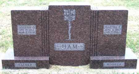 HAM, MARTHA E. - Dundy County, Nebraska   MARTHA E. HAM - Nebraska Gravestone Photos