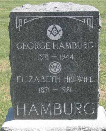 HAMBURG, GEORGE - Dundy County, Nebraska | GEORGE HAMBURG - Nebraska Gravestone Photos