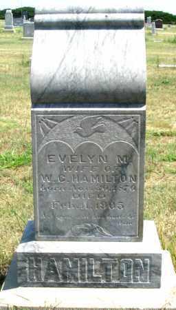 HAMILTON, EVELYN M. - Dundy County, Nebraska | EVELYN M. HAMILTON - Nebraska Gravestone Photos