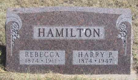 WORK HAMILTON, REBECCA - Dundy County, Nebraska | REBECCA WORK HAMILTON - Nebraska Gravestone Photos