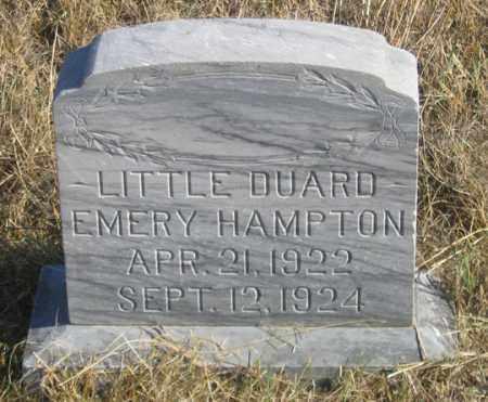 HAMPTON, DUARD EMERY - Dundy County, Nebraska | DUARD EMERY HAMPTON - Nebraska Gravestone Photos