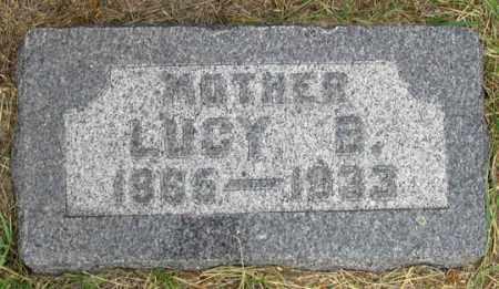 HANSEN, LUCY B. - Dundy County, Nebraska | LUCY B. HANSEN - Nebraska Gravestone Photos
