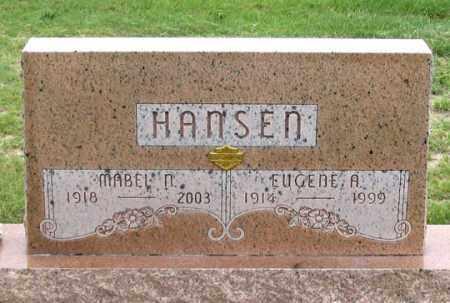 LITTLE HANSEN, MABEL N. - Dundy County, Nebraska   MABEL N. LITTLE HANSEN - Nebraska Gravestone Photos