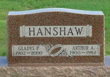 HANSHAW, GLADYS P. - Dundy County, Nebraska | GLADYS P. HANSHAW - Nebraska Gravestone Photos