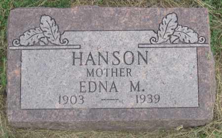 HANSON, EDNA M. - Dundy County, Nebraska | EDNA M. HANSON - Nebraska Gravestone Photos