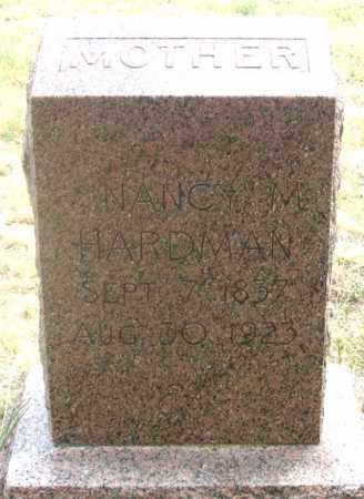 GIFFORD HARDMAN, NANCY M. - Dundy County, Nebraska   NANCY M. GIFFORD HARDMAN - Nebraska Gravestone Photos