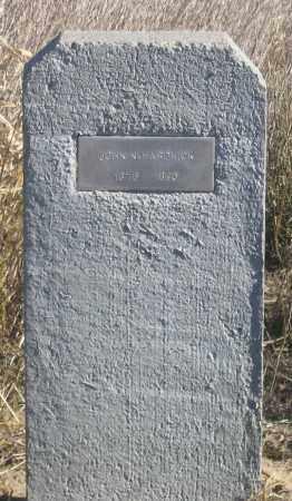 HARDWICK, JOHN NICHOLSON - Dundy County, Nebraska | JOHN NICHOLSON HARDWICK - Nebraska Gravestone Photos