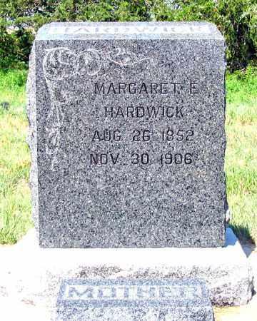 DORSEY HARDWICK, MARGARET E. - Dundy County, Nebraska | MARGARET E. DORSEY HARDWICK - Nebraska Gravestone Photos