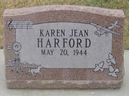 HARFORD, KAREN JEAN - Dundy County, Nebraska   KAREN JEAN HARFORD - Nebraska Gravestone Photos