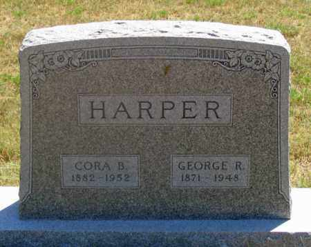 HARPER, GEORGE R. - Dundy County, Nebraska | GEORGE R. HARPER - Nebraska Gravestone Photos