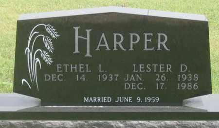 TOEWS HARPER, ETHEL L. - Dundy County, Nebraska | ETHEL L. TOEWS HARPER - Nebraska Gravestone Photos