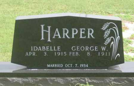 HARPER, GEORGE W. - Dundy County, Nebraska | GEORGE W. HARPER - Nebraska Gravestone Photos