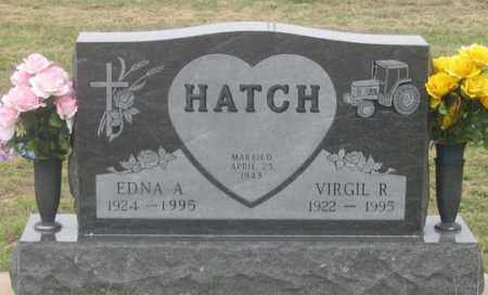 HATCH, VIRGIL R. - Dundy County, Nebraska | VIRGIL R. HATCH - Nebraska Gravestone Photos
