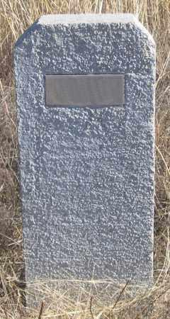 *PARKS HEADSTONE, BLANK - Dundy County, Nebraska   BLANK *PARKS HEADSTONE - Nebraska Gravestone Photos
