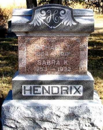 HENDRIX, SABRA K. - Dundy County, Nebraska | SABRA K. HENDRIX - Nebraska Gravestone Photos