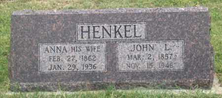 HENKEL, ANNA - Dundy County, Nebraska | ANNA HENKEL - Nebraska Gravestone Photos