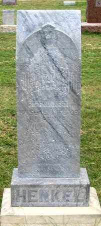 HENKEL, ROSE E. - Dundy County, Nebraska | ROSE E. HENKEL - Nebraska Gravestone Photos