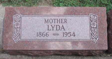 HERRING, LYDA - Dundy County, Nebraska | LYDA HERRING - Nebraska Gravestone Photos