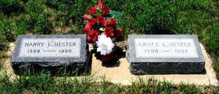 HESTER, HARRY L. - Dundy County, Nebraska | HARRY L. HESTER - Nebraska Gravestone Photos