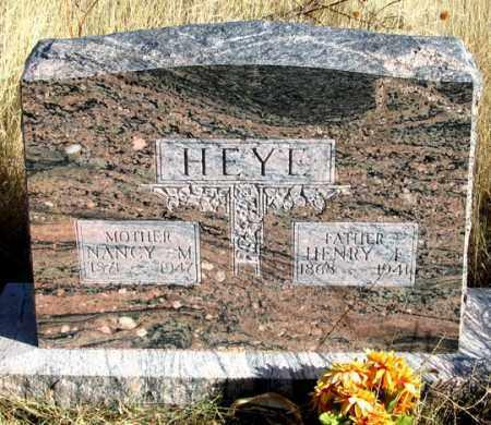 HEYE, NANCY M. - Dundy County, Nebraska | NANCY M. HEYE - Nebraska Gravestone Photos
