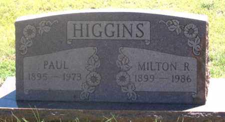 HIGGINS, PAUL - Dundy County, Nebraska | PAUL HIGGINS - Nebraska Gravestone Photos