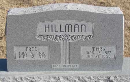 HILLMAN, MARY - Dundy County, Nebraska   MARY HILLMAN - Nebraska Gravestone Photos