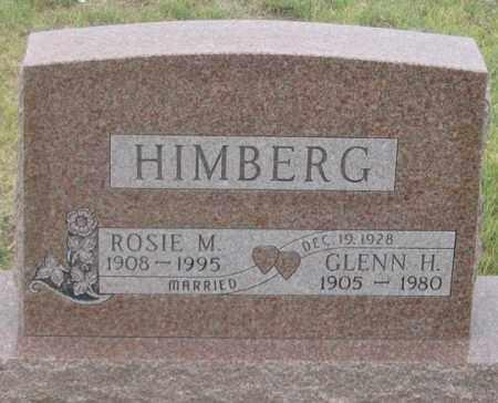BLECHA HIMBERG, ROSIE M. - Dundy County, Nebraska | ROSIE M. BLECHA HIMBERG - Nebraska Gravestone Photos