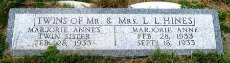 HINES, INFANT (TWIN) - Dundy County, Nebraska   INFANT (TWIN) HINES - Nebraska Gravestone Photos