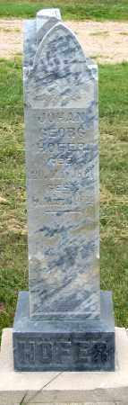 HOFER, JOHANN GEORG - Dundy County, Nebraska | JOHANN GEORG HOFER - Nebraska Gravestone Photos