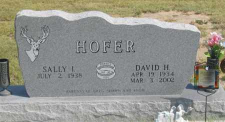 HOFER, SALLY I. - Dundy County, Nebraska | SALLY I. HOFER - Nebraska Gravestone Photos