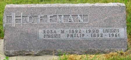 HOFFMAN, PHILIP - Dundy County, Nebraska | PHILIP HOFFMAN - Nebraska Gravestone Photos