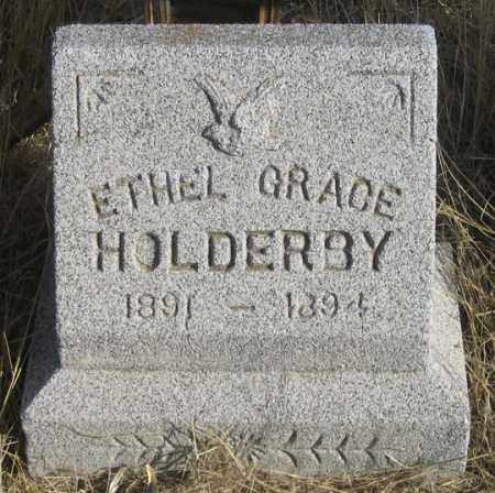 HOLDERBY, ETHEL GRACE - Dundy County, Nebraska | ETHEL GRACE HOLDERBY - Nebraska Gravestone Photos