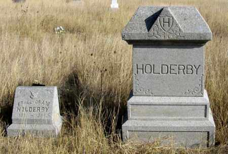 HOLDERBY, FAMILY GRAVE SITE - Dundy County, Nebraska | FAMILY GRAVE SITE HOLDERBY - Nebraska Gravestone Photos