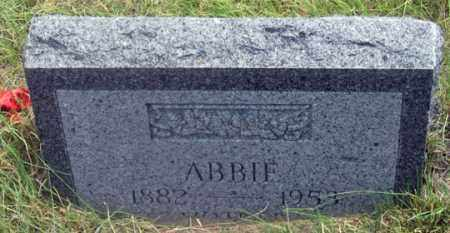 HOWARD, ABBIE - Dundy County, Nebraska | ABBIE HOWARD - Nebraska Gravestone Photos