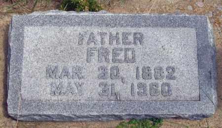 HOWARD, FRED - Dundy County, Nebraska | FRED HOWARD - Nebraska Gravestone Photos